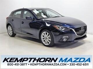 Certified pre-owned Mazda cars 2016 Mazda Mazda3 s Hatchback for sale near you in Canton, OH