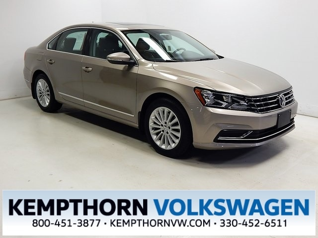 Featured pre-owned vehicles 2016 Volkswagen Passat 1.8T SE Sedan for sale near you in Canton, OH