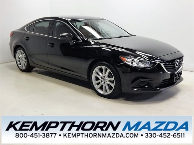 Used vehicle 2016 Mazda Mazda6 i Touring Sedan for sale near you in Canton, OH