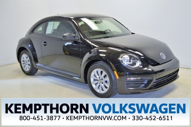 Featured pre-owned vehicles 2017 Volkswagen Beetle 1.8T S Hatchback for sale near you in Canton, OH