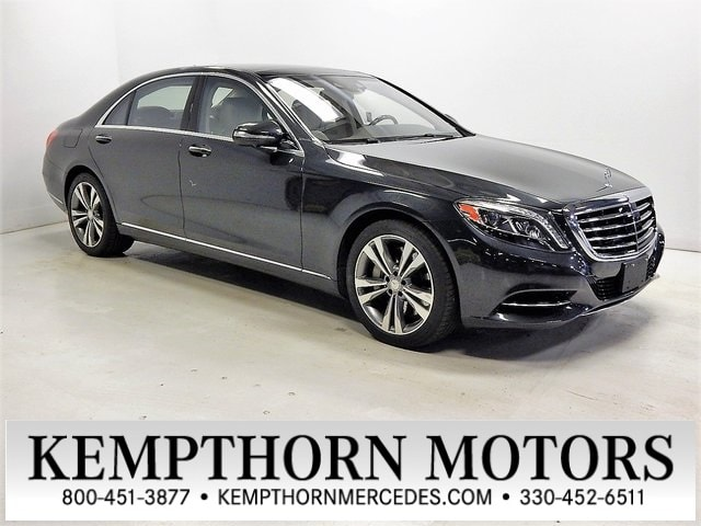 Featured pre-owned vehicles 2015 Mercedes-Benz S-Class S 550 Sedan for sale near you in Canton, OH