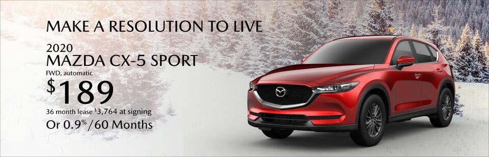 Mazda CX-5 Sport Lease