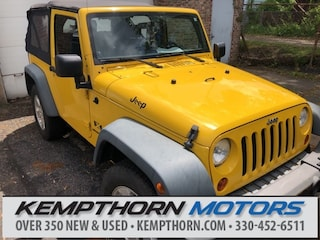 Bargain used vehicles 2008 Jeep Wrangler X SUV for sale near you in Canton, OH