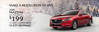 2020 Mazda6 Sport Lease
