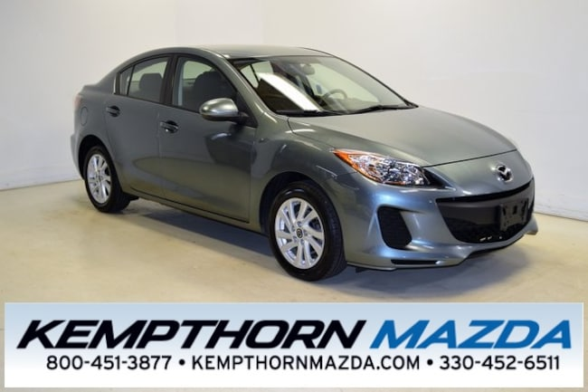 Used vehicle 2013 Mazda Mazda3 i Sedan for sale near you in Canton, OH