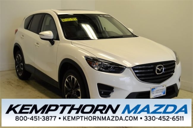 Certified pre-owned Mazda vehicles 2016 Mazda CX-5 Grand Touring SUV for sale near you in Canton, OH