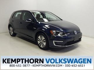 Used 2016 Volkswagen e-Golf SE Hatchback for sale in Canton OH