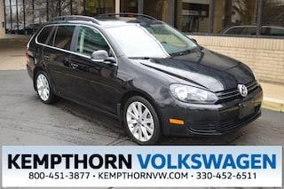 Certified Pre-Owned 2014 Volkswagen Jetta Sportwagen 2.0L TDI Wagon for sale in Canton OH