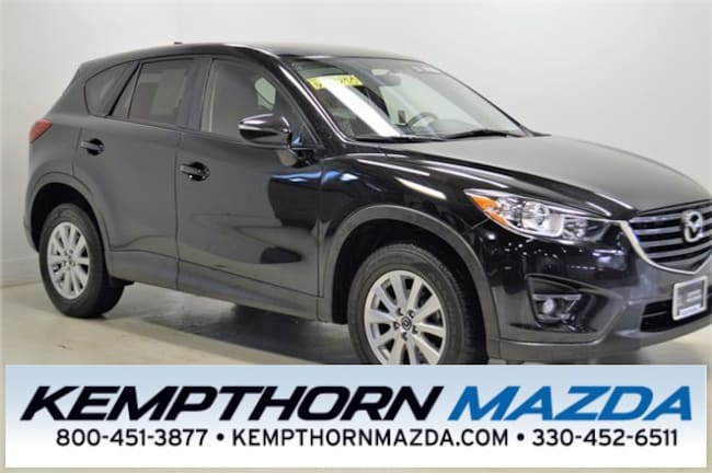Certified pre-owned Mazda vehicles 2016 Mazda CX-5 Touring SUV for sale near you in Canton, OH