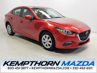 Certified pre-owned Mazda cars 2017 Mazda Mazda3 Sport Sedan for sale near you in Canton, OH