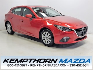 Certified pre-owned Mazda cars 2015 Mazda Mazda3 i Hatchback for sale near you in Canton, OH