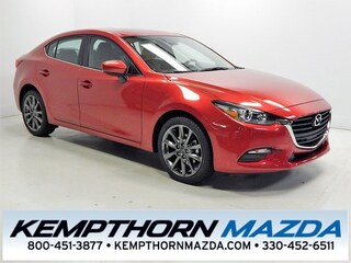 new Mazda vehicles 2018 Mazda Mazda3 Touring Sedan for sale near you in Canton, OH