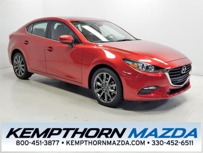 new Mazda vehicles 2018 Mazda Mazda3 Touring Sedan for sale near you in Canton, OH