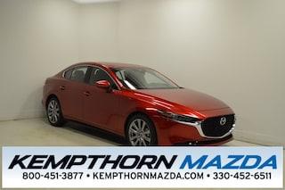new Mazda vehicles 2019 Mazda Mazda3 Premium Sedan 3MZBPAEM7KM103600 for sale near you in Canton, OH