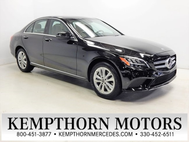 New 2019 Mercedes-Benz C-Class C 300 4MATIC Sedan in Canton, Ohio