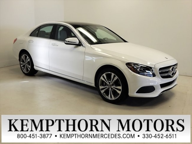 New 2018 Mercedes-Benz C-Class C 300 4MATIC Sedan in Canton, Ohio