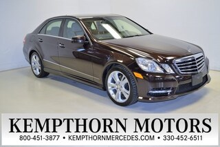 2013 Mercedes-Benz E-Class E 350 4MATIC Sedan