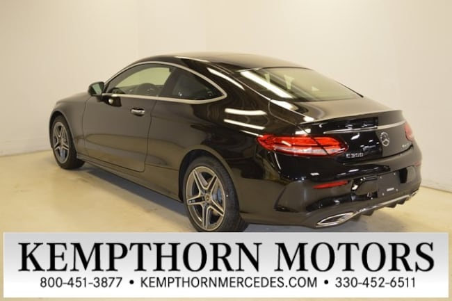 New 2019 Mercedes-Benz C-Class C 300 4MATIC Coupe in Canton, Ohio