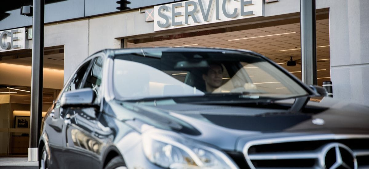 Kempthorn Mercedes Benz Service Department in Canton