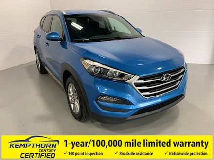 Featured Pre-Owned 2018 Hyundai Tucson SEL SUV for sale in Canton, OH