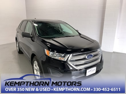 Featured Pre-Owned 2017 Ford Edge SE SUV for sale in Canton, OH