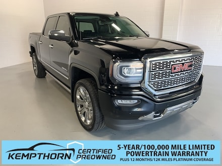 Featured Pre-Owned 2016 GMC Sierra 1500 Denali Truck Crew Cab for sale in Canton, OH