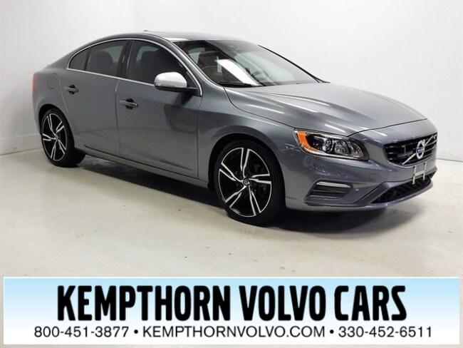 Certified 2017 Volvo S60 T6 R-Design Platinum Sedan Canton, OH
