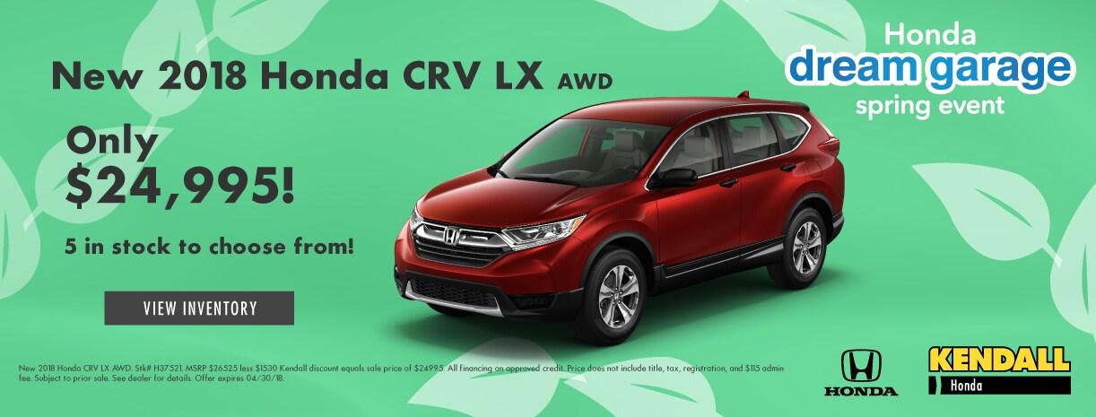 Kendall Honda Eugene >> New, Certified Pre-owned, & Used Honda Cars, Trucks ...
