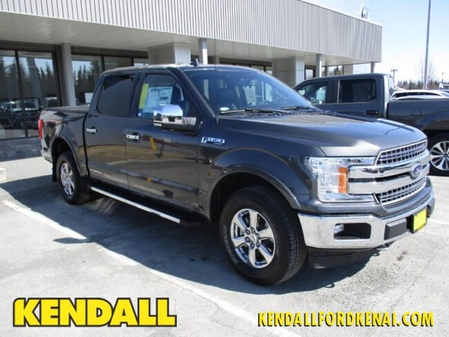 2018 Ford F-150 Lariat 4WD Supercrew 5.5
