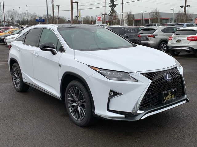 Lexus Rx F Sport >> New 2019 Lexus Rx 450h Rx 450h F Sport For Sale In Eugene Or L19791