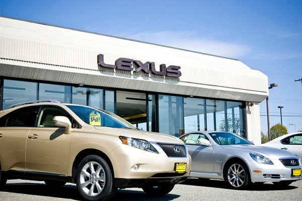 Lexus Dealership Directions
