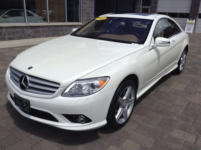 2010 Mercedes Benz CL Class CL550 Coupe