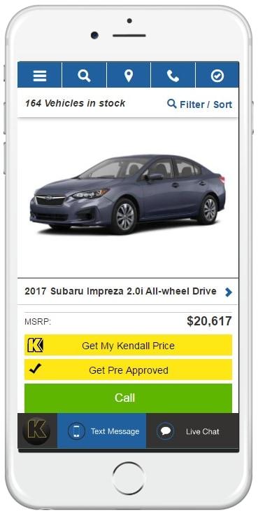 Car Dealerships In Fairbanks >> What is the Kendall Price? | Subaru Financing | Kendall ...