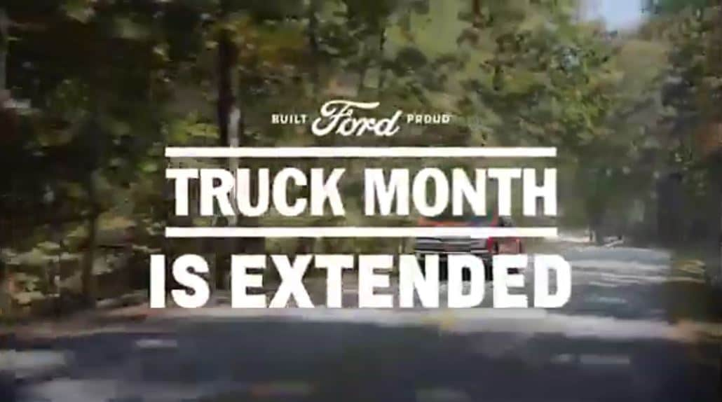 truck month extended