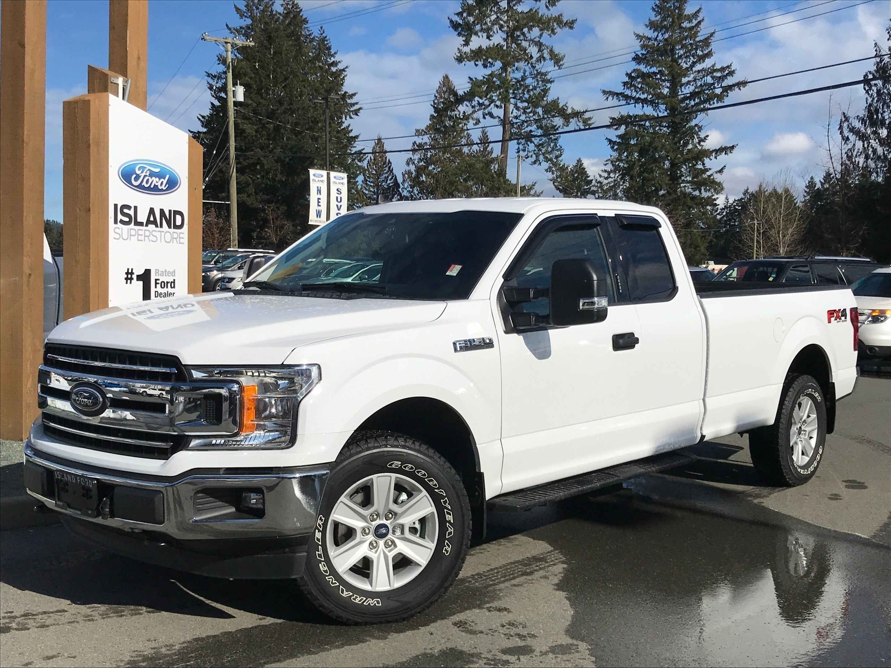 2019 Ford F-150 XLT 300A 3.5L SuperCab Truck SuperCab Styleside