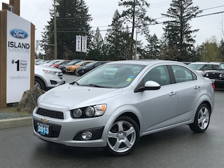 2013 Chevrolet Sonic LTZ, Moonroof, Leatherette Seats Car