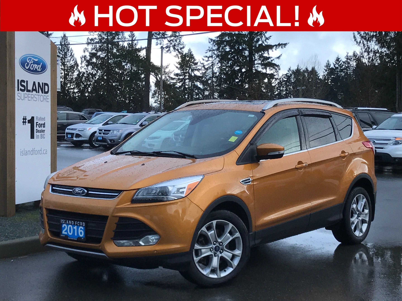2016 Ford Escape Titanium, Leather, Nav, AWD Sport Utility