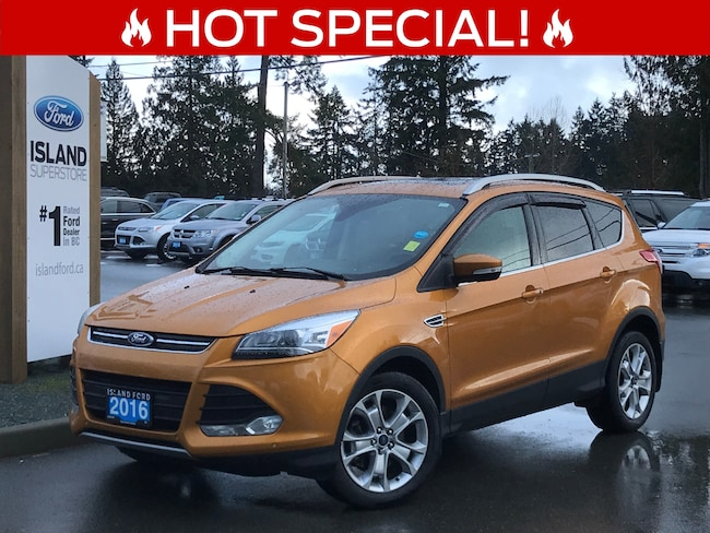 2016 Ford Escape Titanium, Leather, Nav, AWD Sport Utility