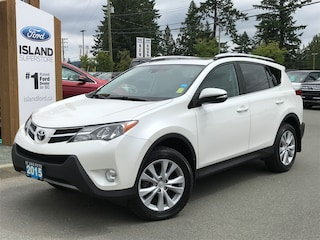 2015 Toyota RAV4 Limited, Moonroof, Backup Camera, AWD Sport Utility