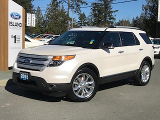 2015 Ford Explorer XLT, Leather, Keyless Entry, Moonroof Sport Utility