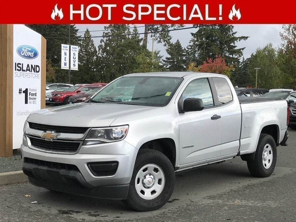 2015 Chevrolet Colorado 4WD WT Extended Cab Pickup