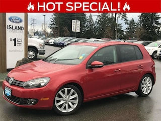 2012 Volkswagen Golf Highline - Leather Heated Seats & Moonroof Hatchback