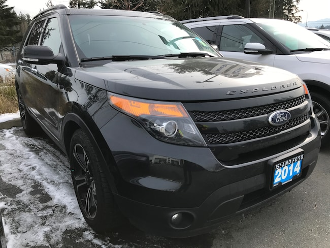 2014 Ford Explorer Sport, Leather, DVD, AWD Sport Utility