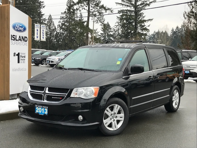 2013 Dodge Grand Caravan Crew, Backup Camera, DVD Mini-van Passenger