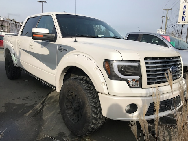 2012 Ford F-150 Harley Davidson, Leather, Heated/Cooled Seats, Nav Crew Cab Pickup