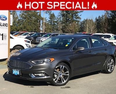 2018 Ford Fusion Titanium, Backup Camera, Moonroof Car