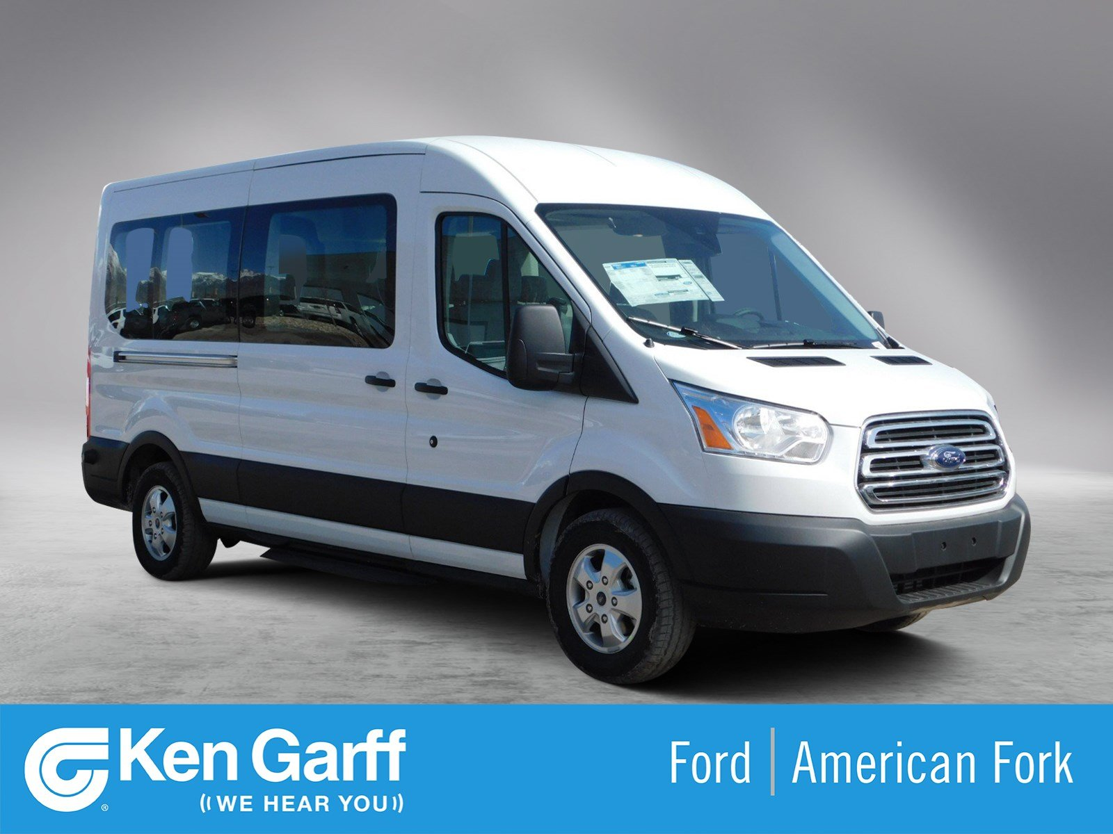 New 2019 Ford Transit-350 For Sale at Ken Garff Ford | VIN