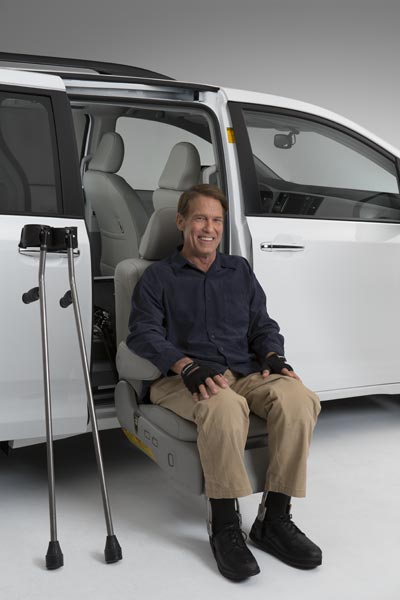Toyota Sienna Factory Installed Auto Access Seat