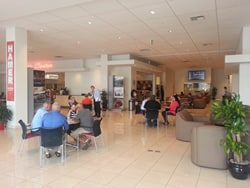 Hamer Toyota Service Waiting Area