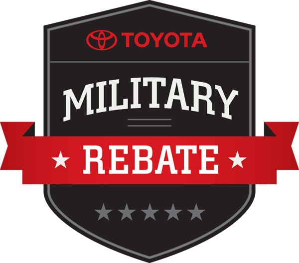 Toyota Military Rebate Program at Hamer Toyota